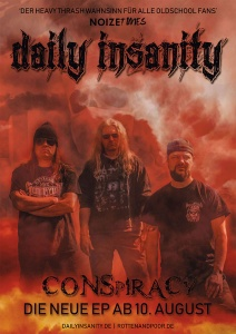 Daily Insanity - Promo Poster